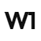 Logo da W1 Agência